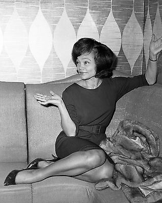 "Eartha Kitt 10"" x 8"" Photograph no 1"