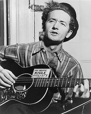 "Woody Guthrie 10"" x 8"" Photograph no 1"