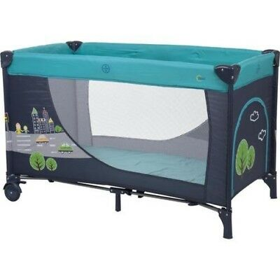 Fillikid Travel bed with Step and Rollers with motif