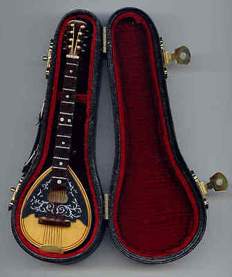Miniature Bouzouki Mandolin in Case