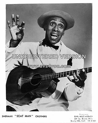 "Sherman Scatman Crothers 10"" x 8"" Photograph no 1"