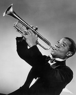 "Louis Armstrong 10"" x 8"" Photograph no 1"