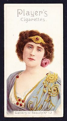 John Player GALLERY OF BEAUTY SERIES 1896 #13 *VG Condition*
