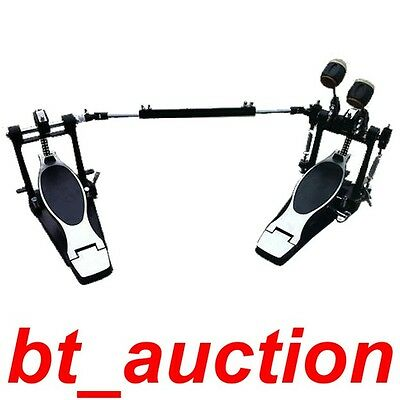 Brand New High Grade Double Click TWIN Bass Drum Pedal (P6H)