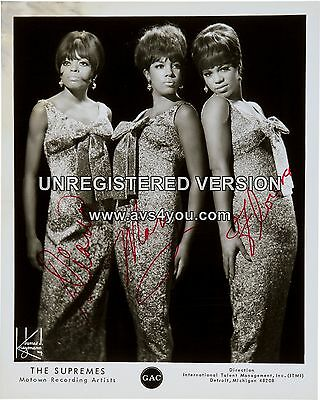 """Diana Ross and the Supremes 10"""" x 8"""" Photograph no 164"""