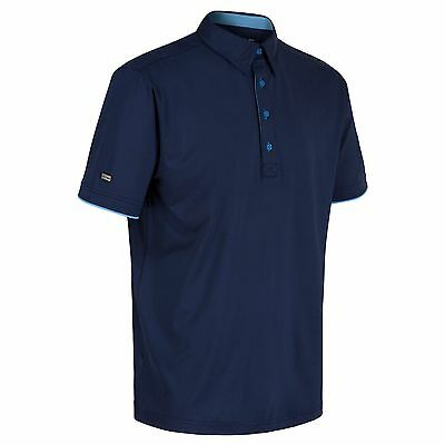 G. Mac by Kartel Limited Edition Polo Da Golf Bianco/pietra /Blu scuro S,M,L,XL,
