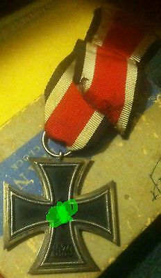 Vintage 1939 German 3Rd Third Reich Iron Cross 2Nd Class Medal 1813-1939 Wwi