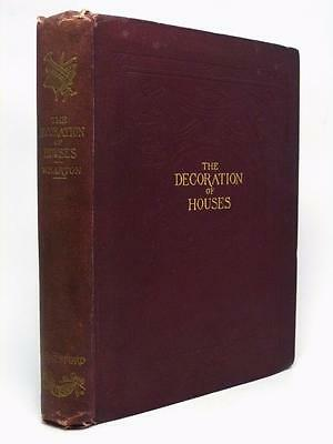 EDITH WHARTON The Decoration of Houses 1898 rare first UK edition her first book