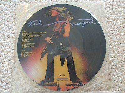 Ted Nugent Picture Disc LP PD10-05 Audiofidelity PD10-05