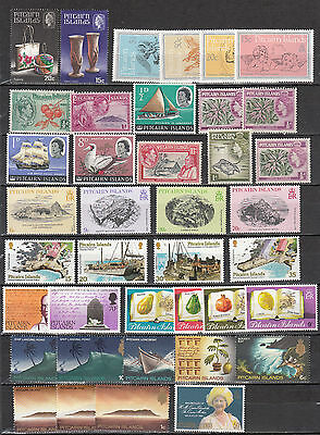 Pitcairn Islands - small stamp lot - MNH