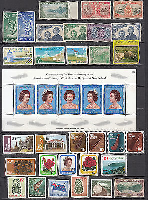 New Zealand - small stamp collection - MNH