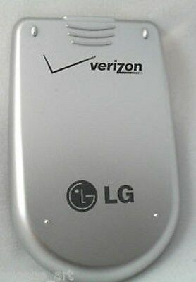 New OEM LG Silver Back Door Battery Cover for Verizon LG VX3200
