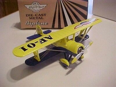Rare American Flyer Exclusive Die-Cast Biplane Mint In Box