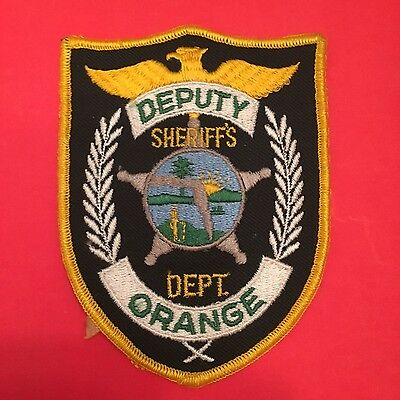 Orange County Florida Sheriff  Shoulder Patch