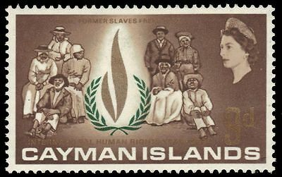 CAYMAN ISLANDS 198 (SG210) - International Human Rights Year (pa75150)