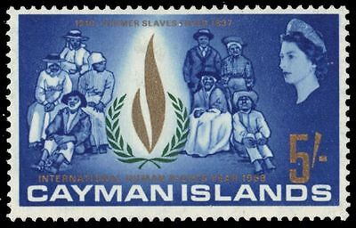 CAYMAN ISLANDS 199 (SG211) - International Human Rights Year (pa75151)