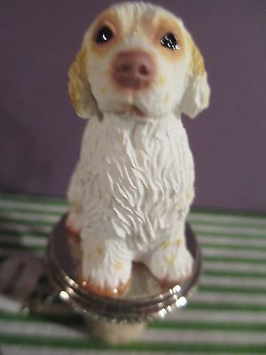 Clumber Spaniel    Dog Wine Stopper