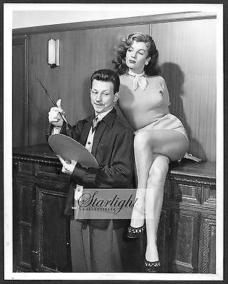 Corinne Calvet 1952 ORIGINAL NBC TV Promo Photo The Colgate Comedy Hour