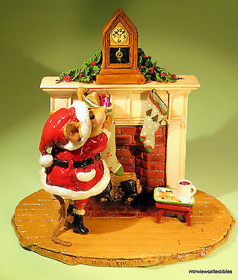 Wee Forest Folk M-471 A Visit from St.Nick