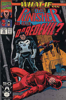 What If...#26 Punisher Had Killed Daredevil? / 1991 / Marvel Comics