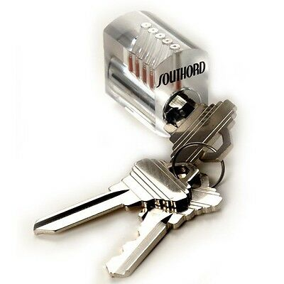Southord SouthOrd Visible Cutaway Practice Lock with Spool Pins ST-35