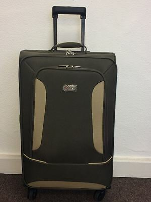5 Cities 46cm Lightweight Cabin Wheeled Holdall Suitcase Hand Luggage Case