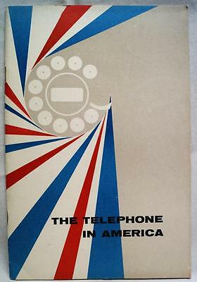 Bell Telephone Company Advertising Brochure 1959 The Telephone In America