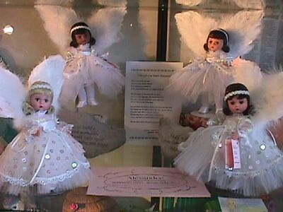 "Madame Alexander  9/11 In Memory Angel  8"" Doll Mint In Box With Coa"