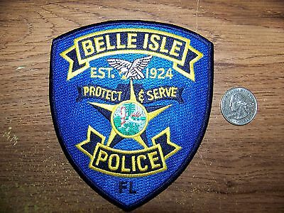 Belle Isle, Fl Police Patch