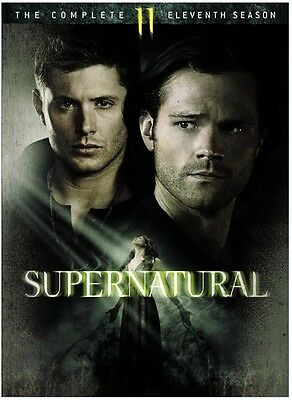 Supernatural: The Complete Eleventh Season - 6 DISC SET (2016, REGION 1 DVD New)