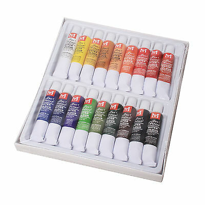 18 Color 12ml Paint Tube Draw Painting Artists WaterColor Paint Set
