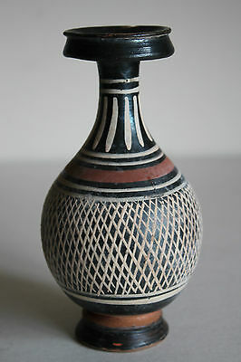 QUALITY ANCIENT GREEK NET VASE FLASK 4th CENTURY BC