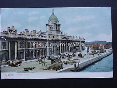 Ireland DUBLIN Custom Housel c1905 Old Postcard by Pictorial Stationery Co.