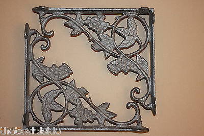 (8),grape, Leaf,corbels, Shelf Brackets,wall Brackets,country Decor, B-12