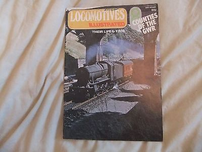 Locomotives Illustrated Vol 8 GWR Counties Steam Loco History Magazine