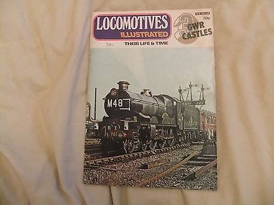 Locomotives Illustrated Vol 3 GWR Castles Steam Loco History Magazine
