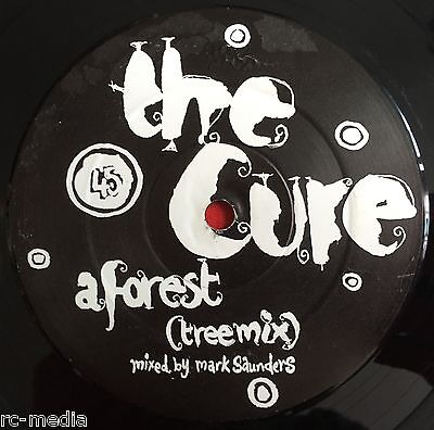 "THE CURE -In Between Days/A Forest (Remixes)- Rare UK 12"" Promo (Vinyl Record)"