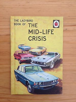 The Ladybird Book of the Mid-Life Crisis (Adult) Spoof Parody Humour
