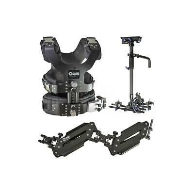 Came-TV 5.5-33lbs Pro Camera Steadicam Video Carbon Stabilizer with Case