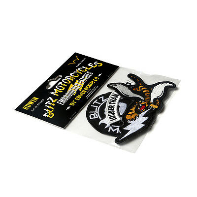 EDWIN x BLITZ Motorcycles Embroidered Patches by Edwin Denim Aufnäher - 3er-Pack