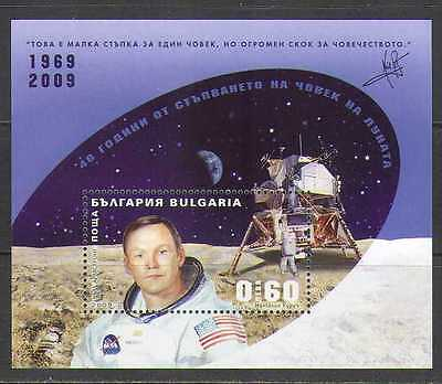 Bulgaria 2009 Apollo 11/Moon/Space/Astronaut m/s n24430