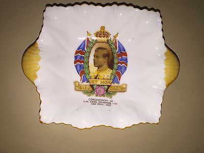 Shelley dish Edward VIII Coronation 1937