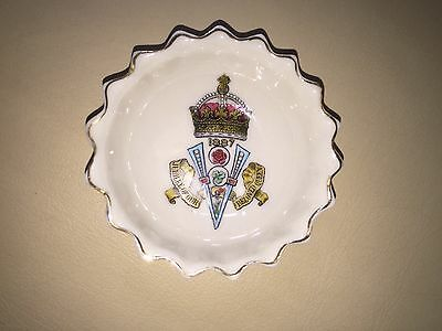Small Dish by W H Goss -  Golden Jubilee of Queen Victoria 1887