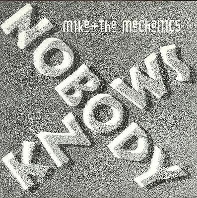 "MIKE and the MECHANICS UK 1988 7"" Single NOBODY KNOWS DiscNEW"