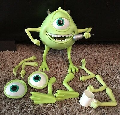 MONSTERS INC. BUILD YOUR OWN TALKING MIKE FIGURE MODEL KIT Eyes Arms Legs