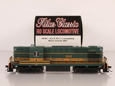 Atlas Classic 8785 HO RS-11 RS11 Maine Central MEC #801 DCC-Ready