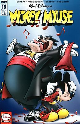 Mickey Mouse #15 Subscription Variant (Idw 2016 1St Print) Comic