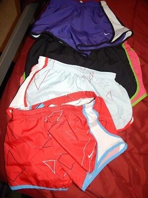 Lot Of 4 Nike Track Workout Yoga Dri Fit Shorts Med