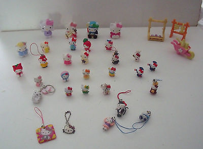Hello Kitty Collection Of 30 Figures & More - Bundle - Lots