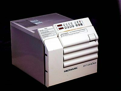Midmark M11 UltraClave Dental Autoclave Sterilizer for Instruments w/ 4 Trays